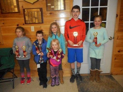 Junior Ice Fishing Derby Winners